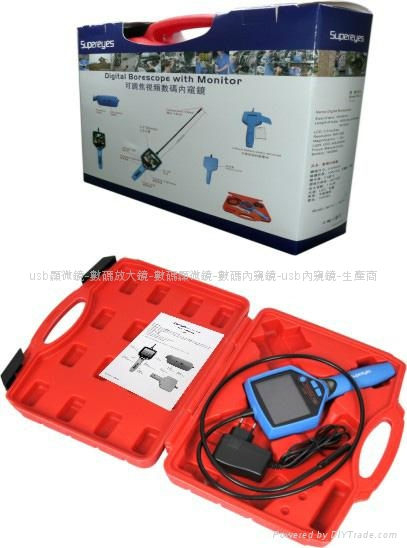 OEM is available Free Focus video borescope 10X Factory Outlet  2
