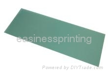 Washable polymer plate for pad printing