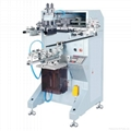 Semi-automatic pneumatic cylindrical screen printing machine