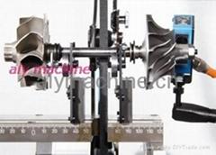 Turbocharger balancing machine