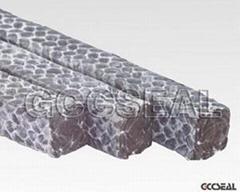 碳素纖維盤根浸四氟