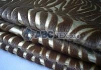 Pu Flocked Fabric