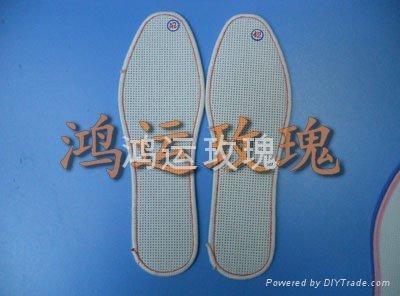 鴻運玫瑰十字繡針孔鞋墊 2