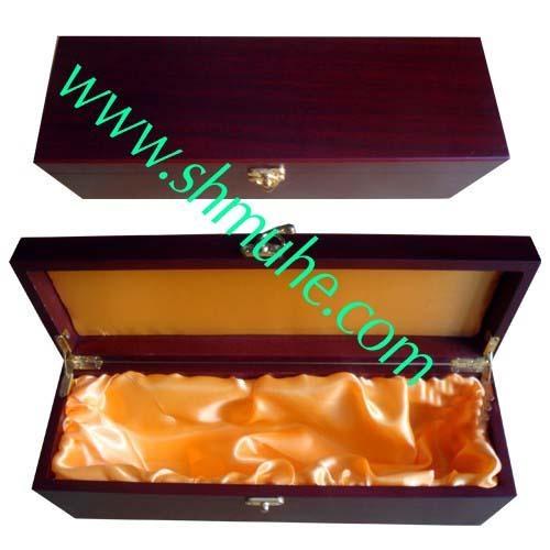 仿紅木葡萄酒禮盒 1
