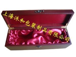 仿紅木葡萄酒禮盒 2