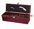 仿紅木葡萄酒禮盒 4