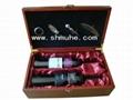 仿紅木葡萄酒禮盒 5