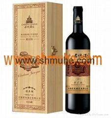原木葡萄酒盒  现货
