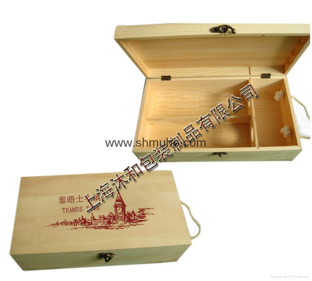 原木葡萄酒盒  現貨 3