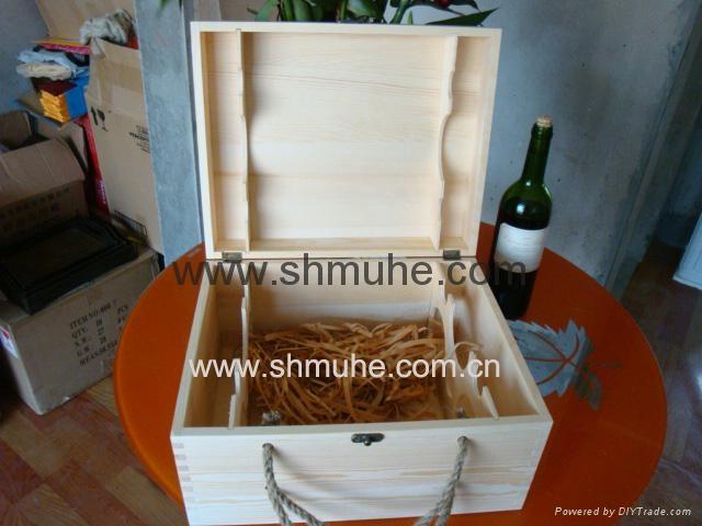 原木葡萄酒盒  現貨 4