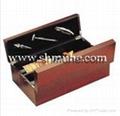 現貨供應葡萄酒木製禮盒 3
