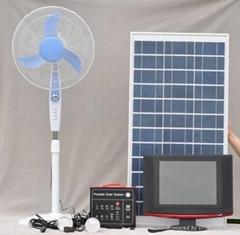 可移动太阳能系统60W