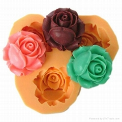 resin craft flower clay exposy molds