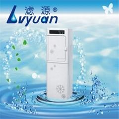 豪华立柜式75加仑反渗透冰热纯净水机