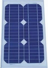 15W单晶太阳能电池组件