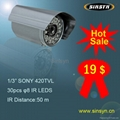 Infrared waterproof camera/IR CCTV camera