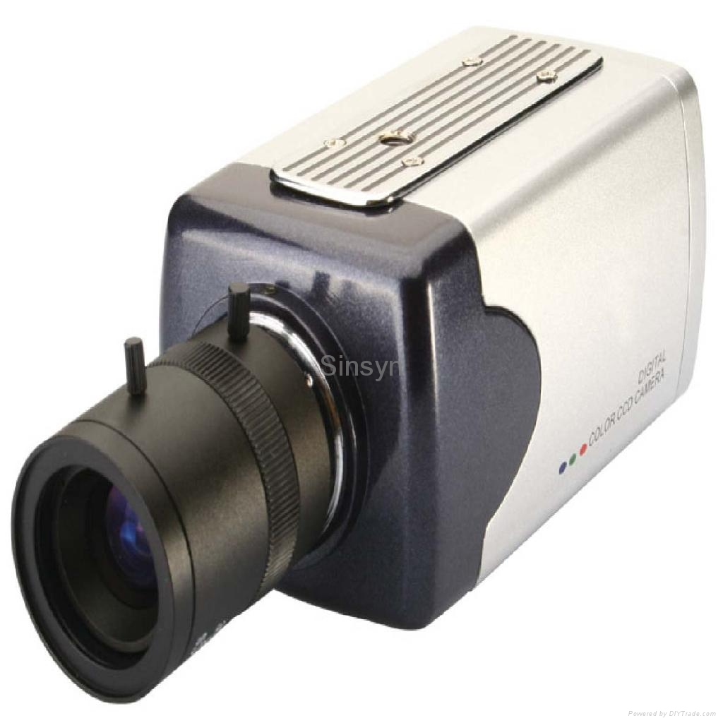 colour ccd box camera 2