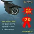 600TVL cctv camera promotion $12