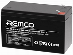 Deep Cycle Rechargeable Sealed Lead Acid Battery