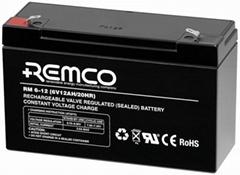 6V 12Ah Sealed lead acid battery
