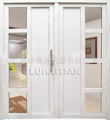 TWO PANEL OUTWARD DOOR