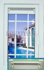 Outward casement window+vent