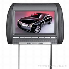 "8.5"" Car Headrest DVD Player with AU panel and Foryou DVD loader"