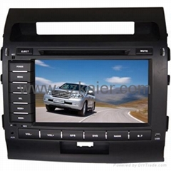 "8"" Touch Screen Car Double-Din DVD Player for LANDCRUISER"