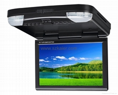 "12.1"" Car Flip-down DVD Player with USB/SD/IR/TV"