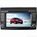 "7"" Car 2-Din DVD player for 2012 Fiat Bravo with 8CD,USB,FM,TV,IPOD and GPS 1"