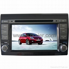 "7"" Car 2-Din DVD player for 2012 Fiat Bravo with 8CD,USB,FM,TV,IPOD and GPS"