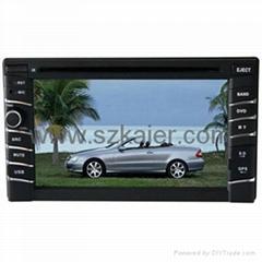 "6.2"" car DVD player for Universal model"