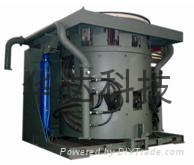 钢铁冶炼GW系列中频感应加热炉设备
