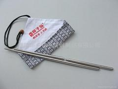 便携折叠环保不锈钢筷子