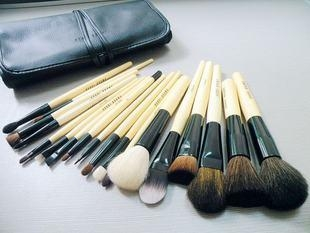 Bobby Brown Cosmetics on Bobbi Brown Makeup Brush Set 18 Pcs With Leather Pouch   Mac  China