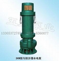 3KW排污排沙潜水电泵