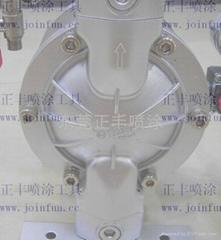 台湾东方龙3/8气动双隔膜泵浦