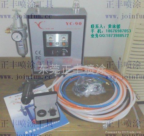 臺灣元麒YC-90 液體靜電噴槍 1