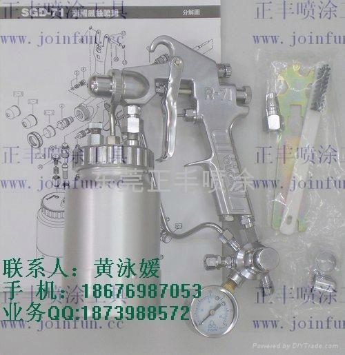 臺灣寶麗SGD-71亂絲噴槍 1