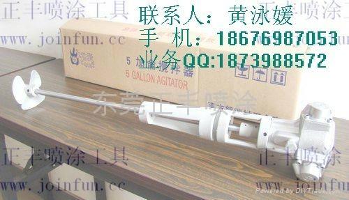 臺灣東方龍牌5加侖帶手動昇降架攪拌器 1