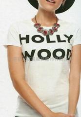 女式圆领T恤