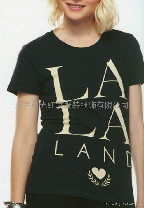 纯棉女式T恤 3