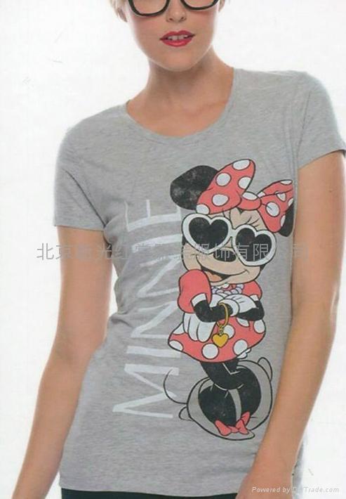 纯棉女式T恤 5