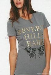 定做女式短袖T恤