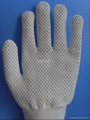 PVC dots cut resistant glove
