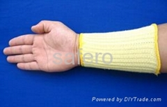 Level 3 Kevlar cut resistant wrist support