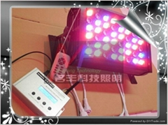 DMX512 control full color 48W LED floodlight