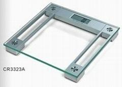钢化玻璃电子人体体重秤