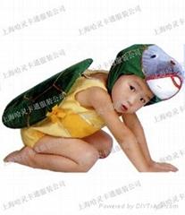 售租乌龟服装儿童动物演出服饰,上海哈灵卡通