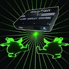 Disco/Stage lighting-532nm Green/Animation Laser Projector (M-10)